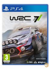 WRC 7 - PS4 - NOVO E EMBALADO em stock