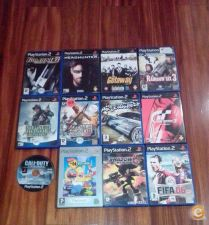10 Jogos variados Playstation 2 PS2