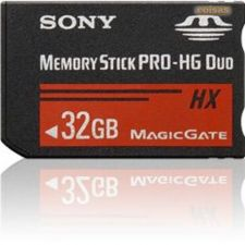 Sony Memory Stick Duo Pro HG 32GB HI-SPEED