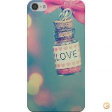 Capa Love and bow para iPod Touch 5/6