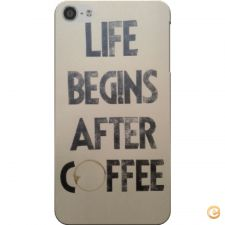 Capa life begins after coffee para iPod Touch 5/6