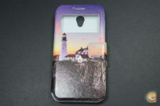 Capa Vodafone Smart Prime 7 Flip Cover Light House *Em 24h!