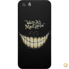 Capa mate We are all mad here para iPhone 5S/SE