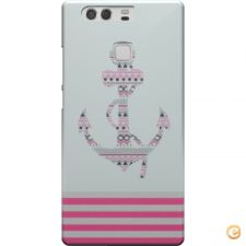 Capa Anchor pink stripes para Huawei P9