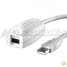 EXTENSÂO CABO ACTIVA USB 2.0 TIPO A-A M/F 5m