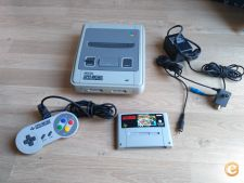 CONSOLA SUPER NINTENDO SNES + MARIO ALL STARS