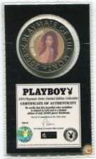 2004 PLAYBOY MAGAZINE PLAYMATE MEDALHA selada-Miss SEPTEMBER