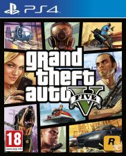 GTA 5 [PT] Grand Theft Auto V PS4 NOVO E SELADO EM STOCK