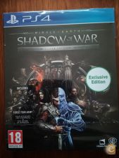 Middle Earth Shadow of War Silver Edition PS4 NOVO TOCK