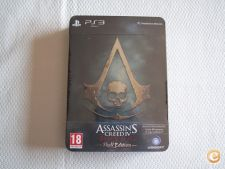 Assassins Creed IV 4 Black Flag - Skull Edition - PS3 - NOVO