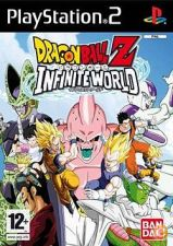 Dragon Ball Z Infinite World - Original Ps2 - NOVO com IGAC