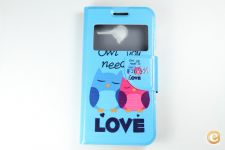 Capa Vodafone Smart Speed 6 Flip Cover Love *Entrega 24h!
