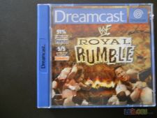 ROYAL RUMBLE Dreamcast só CAIXA excelente e MANUAL