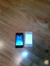 Vendo iphone 4 8gb (preto) vodafone e 4s 16gb (branco)