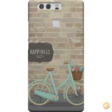 Capa Happiness and bicycle para Huawei P9