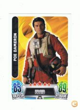 TOPPS,FORCE ATTAX-STAR WARS TRADING CARD (78) POE DAMERON