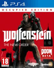 PS4 - Wolfenstein The New Order Occupied Edition NOVO/SELADO