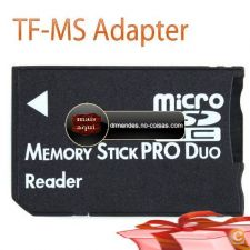 IC6973 -  Micro SD SDHC TF Memory Stick MS Pro Duo Leitor PS