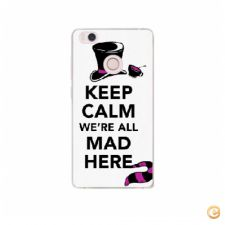Capa Keep calm we are all mad here para Xiaomi Mi4S