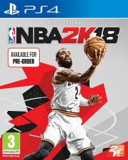 NBA 2K18 PS4 NOVO e EMBALADO EM STOCK
