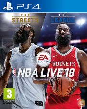 NBA LIVE 18 PS4 - NOVO e SELADO STOCK