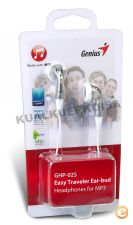 Auriculares Genius FONES HEADPHONE GHP-02S PRATA