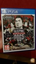 Sleeping Dogs Definitive Edition PS4 aceito troca retoma