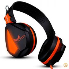 Professional Gaming Headphones Com LED