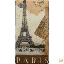 Capa Paris old postcard stamps para Sony Xperia Z5 Compact
