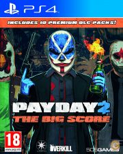 PayDay 2 Crimewave The Big Score Edition PS4 NOVO STOCK