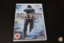 JOGO WII NINTENDO CALL OF DUTY WORLD AT WAR