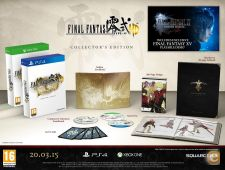 XBOX ONE - Final Fantasy Type-0 HD Collectors - NOVO/SELADO