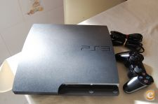 PS3 Slim 160GB + Move + Jogos