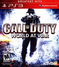 CALL OF DUTY WORLD AT WAR-COMO NOVO