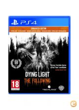 Dying Light: The Following Enhanced Ed. PS4 Novo STOCK