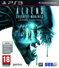 Aliens Colonial Marines Limited Edition Ps3 NOVO SELADO