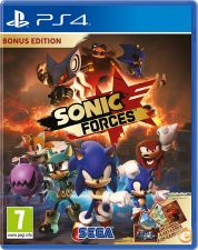 SONIC FORCES BONUS EDITION PS4 NOVO E EMBALADO EM STOCK