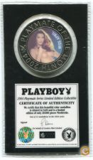 2004 PLAYBOY MAGAZINE PLAYMATE MEDALHA selada-Miss APRIL