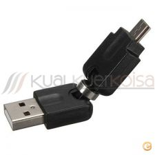 Adaptador USB 2.0 Macho / Micro B Male Adapter 360 Graus