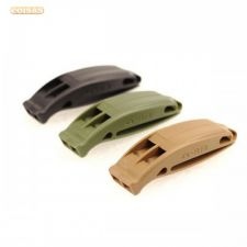 24F158 Campismo Bússola Outdoor Survival Whistle Safety Whis