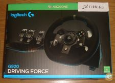 XBOX ONE / PC Logitech Volante + pedais G920 Driving Force