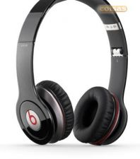 Monster Beats Solo HD Headphones preto: Auscultador - novo -