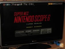 Jogo para Super Scope e receptor