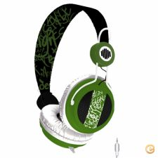 Headphones B-Move Soundwave Black/Green - NOVO