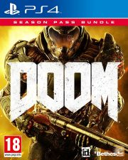 DOOM c/ SEASON PASS PS4 - NOVO E SELADO EM STOCK