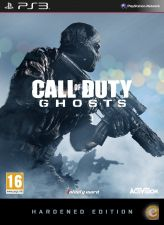 CALL OF DUTY GHOSTS HARDENED EDITION  - PS3 - NOVO em STOCK
