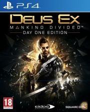 [PT] DEUS EX MANKIND DIVIDED DAY ONE EDITION PS4 NOVO STOCK