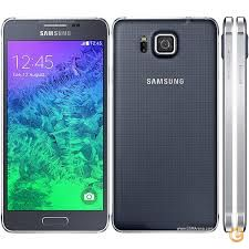 Samsung G850F Galaxy Alpha (Charcoal Black)