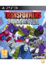 TRANSFORMERS DEVASTATION  PS3 NOVO e SELADO STOCK