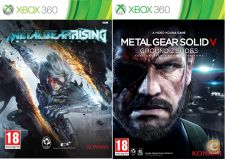 XBOX360 Metal Gear Rising Revengeance, Solid V Ground Zeroes